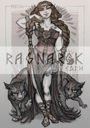 Character card#4:FREYJA by Sceith-A