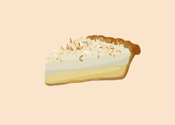 Coconut Pie by TerraConceptualArt