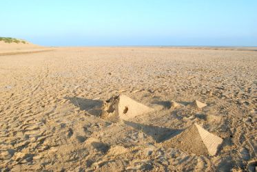 Pyramids of Wells-Next-the-Sea by CitizenJustin