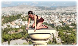 Atop Athens by Cybertosh