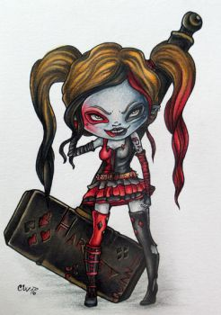 Fan Art | Harley Quinn by CatherineWhite