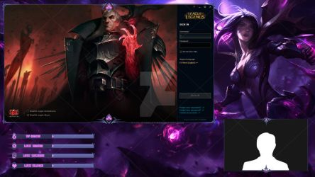 Kai'Sa, Daughter of the Void - Lobby Overlay by lol0verlay