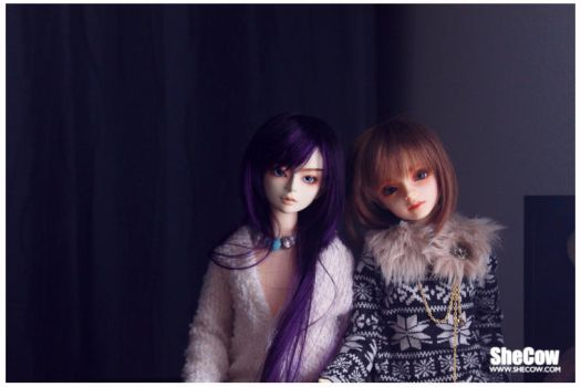 Head#3 with Volks Michele by SheCow