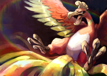 Ho-oh XIII by Tymkiev