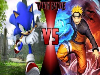 Sonic vs Naruto by 6tails6