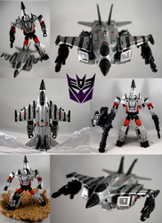 Machine Wars Megatron Custom by TrueError