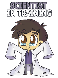 Scientist in Training by ecokitty