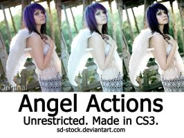 Angel Actions by sd-stock