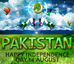 14 August Independence Day-PAK by rameexgfx