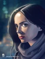 Jessica Jones by AdityaPe