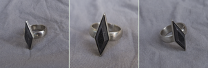 [COMMISSION] Damascus Ring by WMVmetalsmithing
