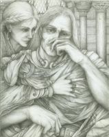 Arthur and Guinevere by ScottAronow