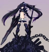 Black Rock Shooter by nz13590