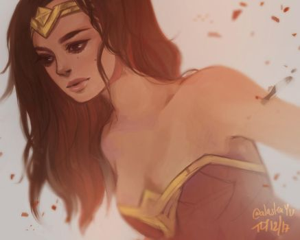 Wonder Woman by alaskaYU