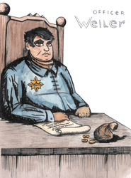 Officer Weiler by Djigallag