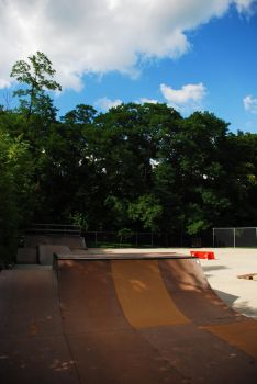 blue skys and smooth wood by skatelife101