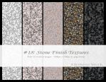 Stone Finish Textures by BirdseyeStock