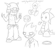Sketchies by 9Andrew5