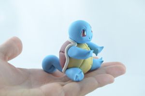 Pokemon Squirtle by claymeeples