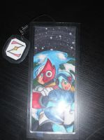 Commish: X and Zero Bookmark by SLiDER-chan