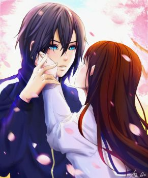 Yato and Hiyori by ChioShin