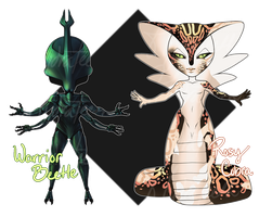 Chibi Monster Adopts - CLOSED by HydraTeeth