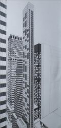 New York City - disegno in esecuzione 5^ by LittleLiuk