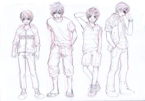 MOE BOYS by Archie-The-RedCat