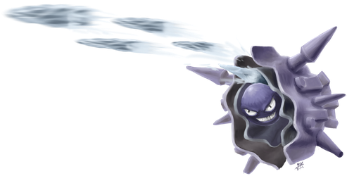 Cloyster Icicle Spear by Yggdrassal