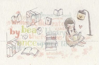 library , by hearte