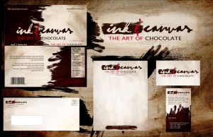 Ink and Canvas - Branding by HilendDesign