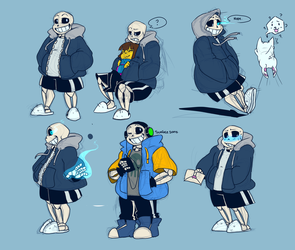 All The Sans by Bunnymuse