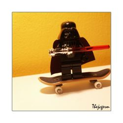 Vader Is a Punk by thejcgerm