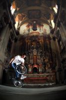 Patrik in churche by Dodo1
