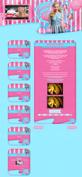 Layout Sweety Design Version 3.2 by FabulousPinkDesignsW
