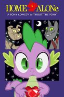 Home Alone - Spike and Diamond Dogs by normanb88