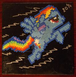 RD 20% hama beads by THECLOUD96