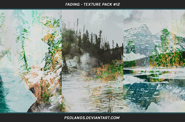 TEXTURE PACK #12 - fading by psdlands