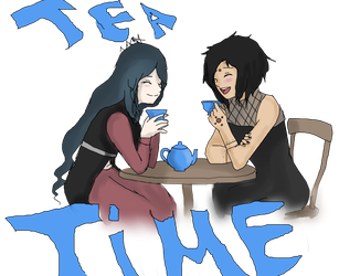 Tea time colored by CopyCat000