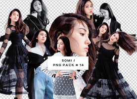 Somi PNG PACK #14 by faithbub