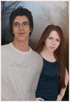 Lily and James by wycked