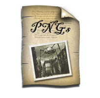 Steampunk PNG Document Icon by yereverluvinuncleber