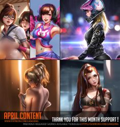 April Content complete ! by Liang-Xing