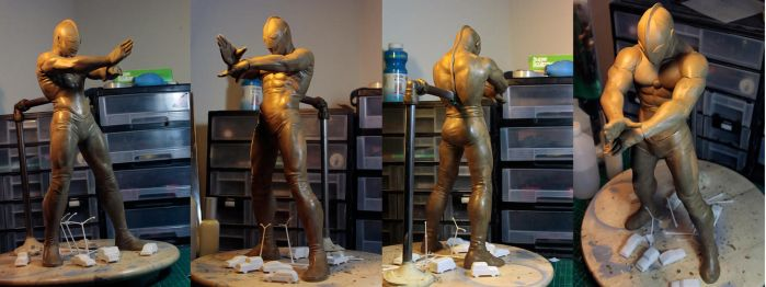 Ultraman - WIP by mufizal