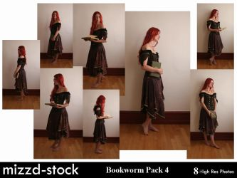 Bookworm Pack 4 by mizzd-stock