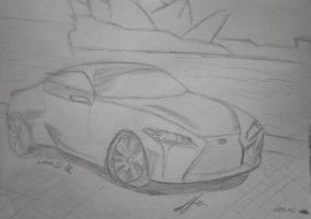 Lexus LF-LC by andrushka1