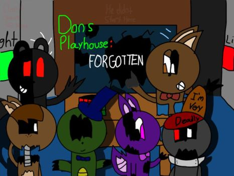 Dons Playhouse: Forgotten by Bonniebro136