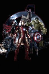 Marvel's Avengers Age Of Ultron Artwork V2.0 by J-K-K-S