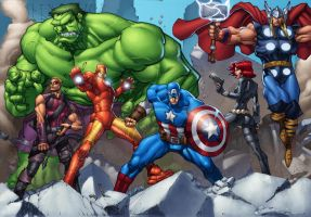 Avengers Assemble by ConfuciusRetaliation