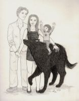 Breaking Dawn- Happy Family by Scribble-Chick